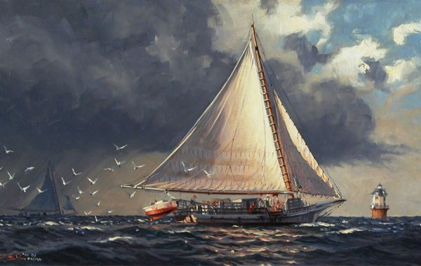 """Squall on the Chesapeake"""