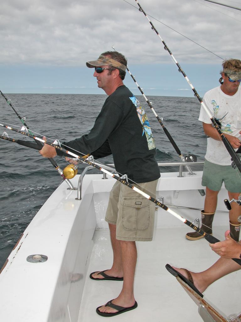 Flipper Gone Fishin