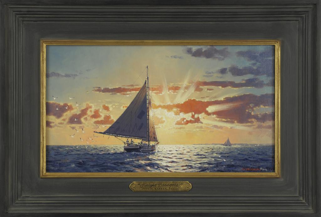 Twilight Dredgers John M Barber Art
