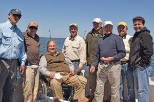 Randy Gibbs, Jim Alexander, John Hager, David Mathews, Dr. Peter Brown, Dr. Robley Bates, John Barber and Joshua Barber.