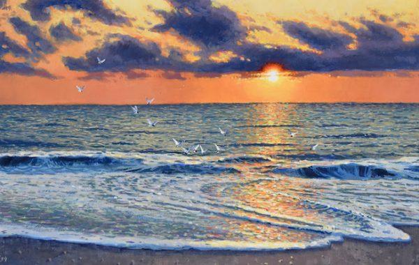 """"""" Rehoboth Sunrise"""""""